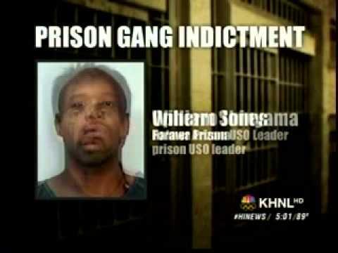 Honolulu FBI Busts USO Family Prison Gang