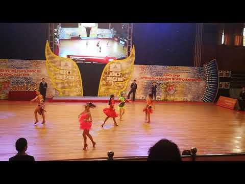 Hanoi Open International Dancesport Championship 2018-Junior Solo Cha Cha Final-23/9/18-Chloe Iu