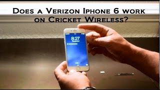 Does a Verizon Iphone 6 work on Cricket Wireless Cellular???