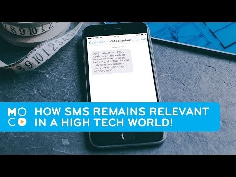 How SMS remains relevant in a high tech world | Mobile Marketing |  #MoComoments