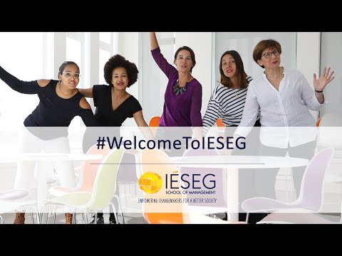#WelcomeToIESEG