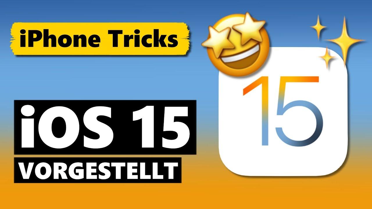iOS 15 – ALLE Änderungen & neuen Funktionen 🤩 (WWDC 2021 - Apple Keynote)