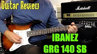 ibanez grg140 sb review guitar 274