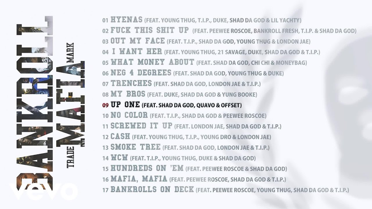 Download Bankroll Mafia - Up One (Audio)