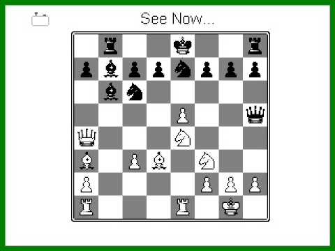 Famous Chess Game The Evergreen Game Youtube