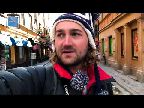 Stockholm, Sweden, Day 3: Winter Walk through Norrmalm & Östermalm
