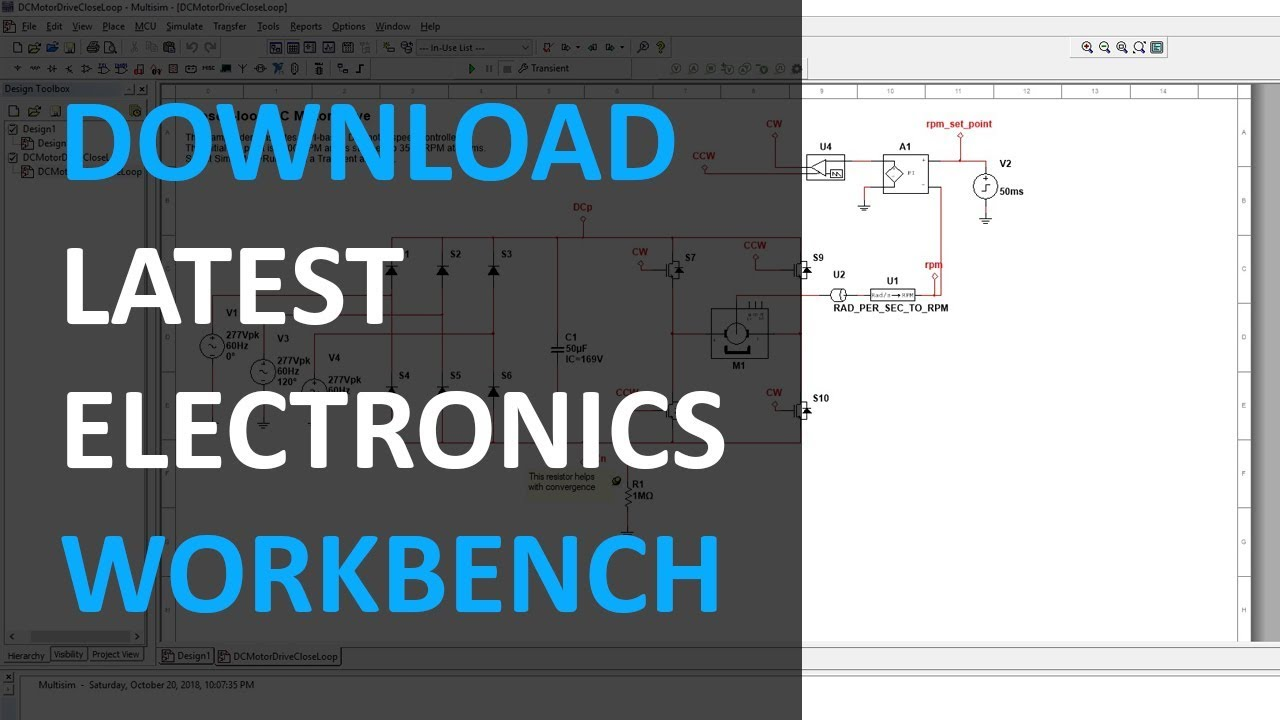 how to download electronic workbench 5.12 full free 2018