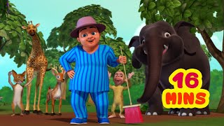 Lalaji's Jungle Picnic - Lalaji Rhymes Collection | Hindi Rhymes for Children | Infobells