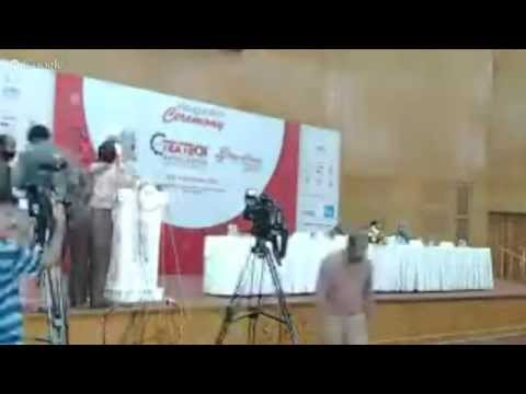 16th Textech Bangladesh 2015 Expo Opening Ceremony