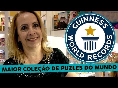 Maior coleção de quebra cabeças do mundo - Largest collection of jigsaw puzzles