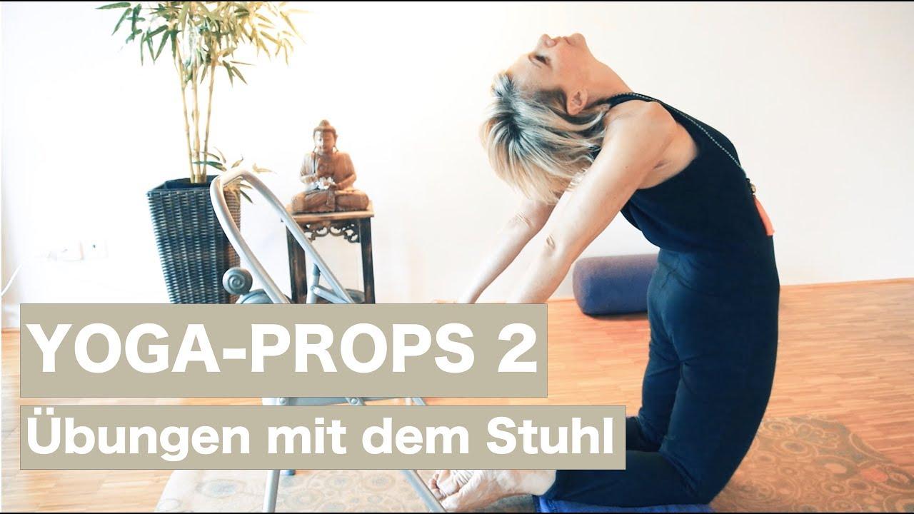 Yoga Props Übungen Mit Dem Stuhl Luisa Rossi