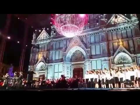 Il Volo Placido Domingo  Tribute Konzert  Florenz 1 Juli 2016  Mamma