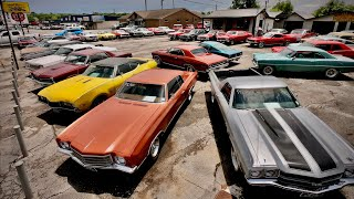 Muscle Car Lot Hot Rod Inventory Walk Maple Motors 6/30/20