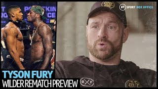 Tyson Fury: Wilder and Joshua can't be the best of this era until they beat The Gypsy King!