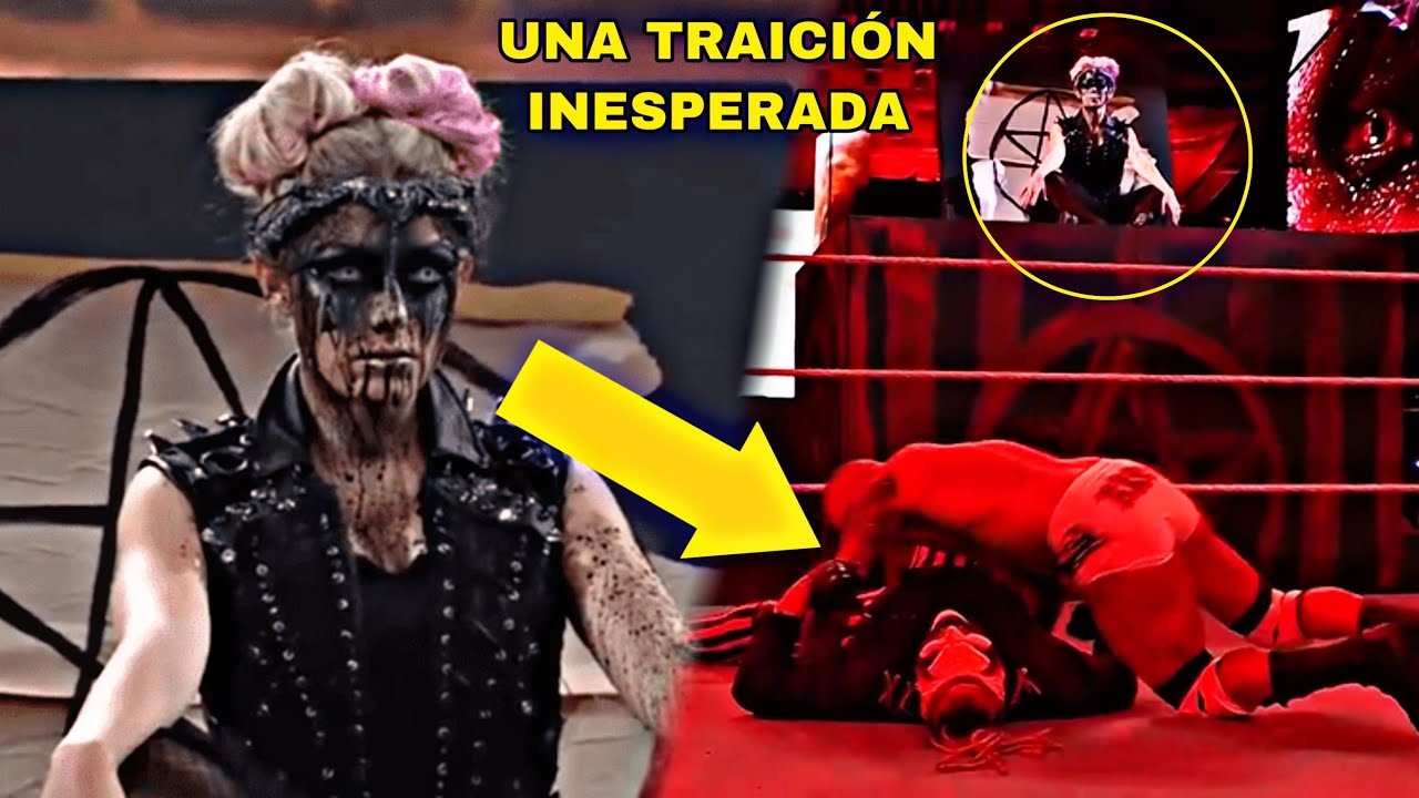 Se Revela el Porque Alexa Bliss Traicionó a The Fiend en Wrestlemania 37