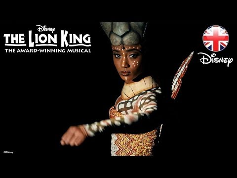 "THE LION KING MUSICAL | ""Nala"" Performs Shadowland – London 