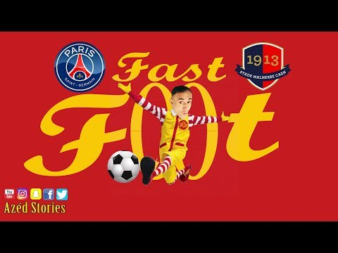 Fast - Foot  Paris SG 1-1 SM Caen  Azéd Stories