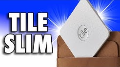 TILE SLIM - Find your lost Wallet - As THIN as TWO Credit Cards