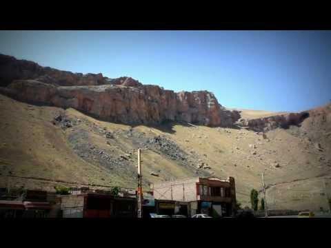 Iran - Famous mountains in the city of Maku, die berühmten Gebirge von Maku im Iran (HD)