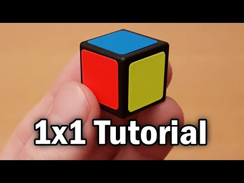 Learn How to Solve a 1×1 Rubik's Cube