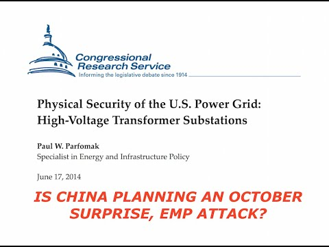 China Surprise, October EMP Attack?  Leaked Intel