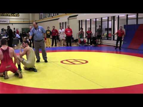 2015 Golden Bear Invitational: 82 kg Steven Clark vs. Steven Sheppard