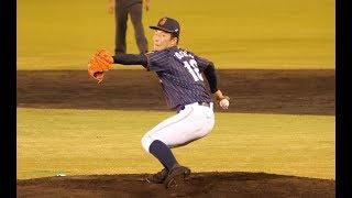 U18 高校日本代表 吉田輝星投手 (金足農)のピッチングフォームを分かり...