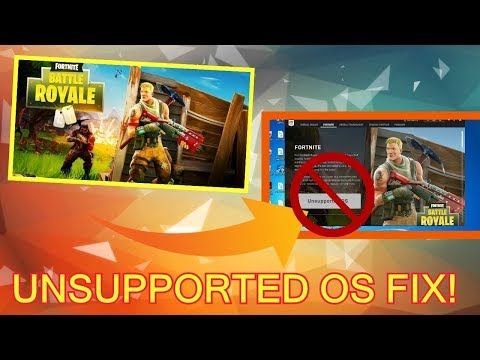 HOW TO PLAY FORTNITE ON 32-BIT PC L Tutorial Video