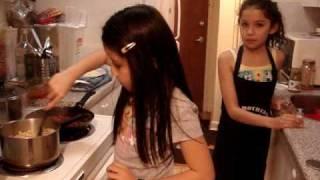 Part 3/4 Natalie And Adriana Make Spiral Lasagna