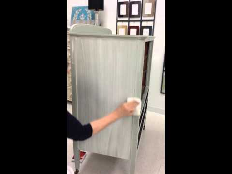 Applying lime wash glaze from the colors of sweden youtube Lime washed bedroom furniture