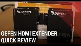 Gefen HDMI Extender Review - GTB-HDBT-POL