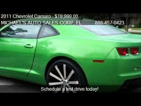 2011 Chevrolet Camaro 1LS - for sale in Hollywood, FL 33023