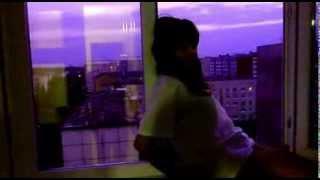 Легкий стриптиз от Ирины на фоне вечерней Йошкар Олы