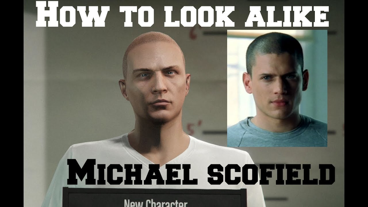 How To Look Alike Michael Scofield In Gta V Online Youtube