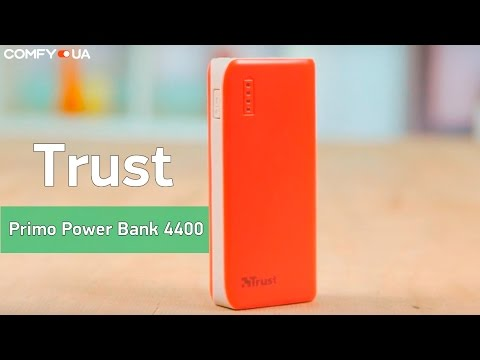 Trust Primo Power Bank 4400 - емкая и небольшая мобильная батарея - Видео демонстрация