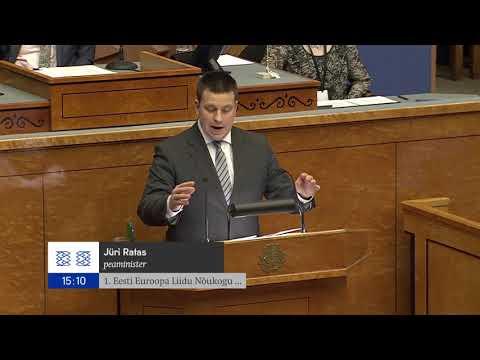 Riigikogu istung, 20. november 2017