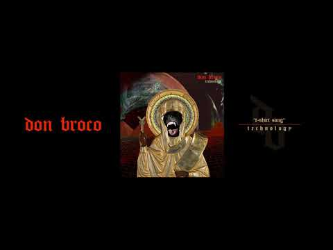 DON BROCO - T-Shirt Song (OFFICIAL AUDIO STREAM)