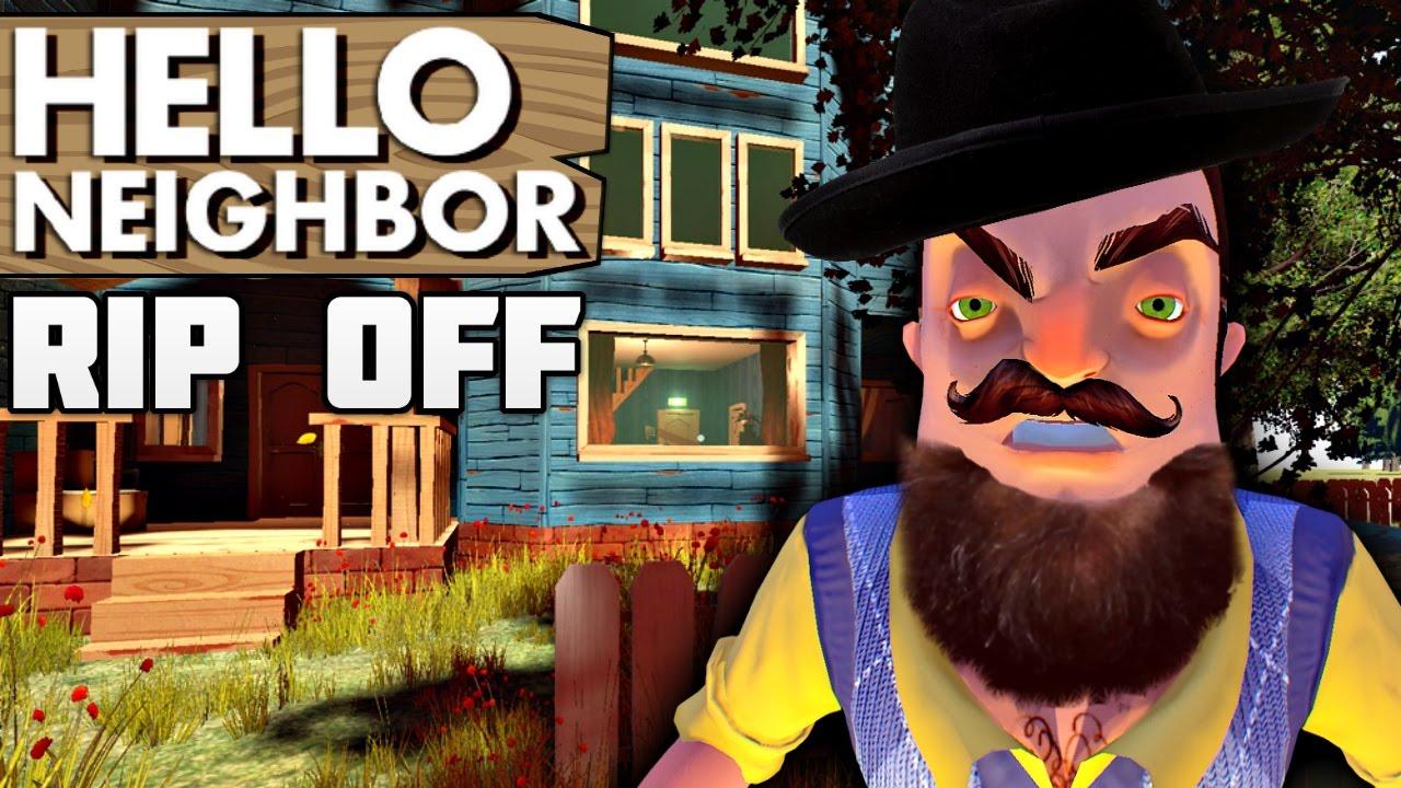 Hello Neighbor Rip Off Fan Game Hello Neighbor 3 5