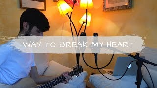 Ed Sheeran ft. Skrillex - Way To Break My Heart [Acoustic Cover - Madef]