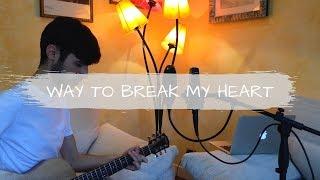 Ed Sheeran ft. Skrillex - Way To Break My Heart [Acoustic Cover - Federico Madeddu]