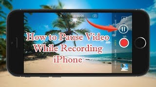 How to Pause Video While Recording iPhone Cydia tweak  | hindi | jailbreak tweak