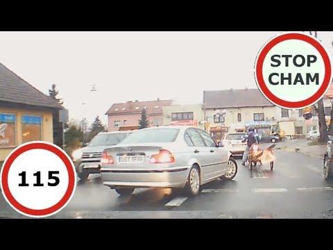 Stop Cham #115 – Niebezpieczne i chamskie sytuacje na drogach