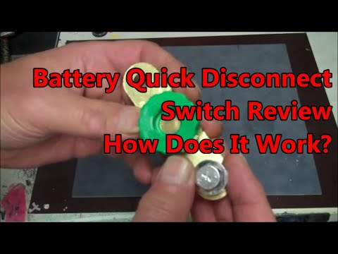 Battery Quick Disconnect Switch Review and How Does It Work? Side Terminal  Version