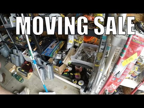 Moving Sale And Garage Sale Treasure Picking!