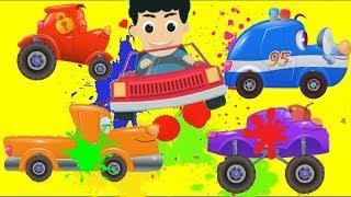 Мультики про #машинки - #Цветные Машинки для Детей| Автомастерская #Тачки - Новые #Мультфильмы 2017