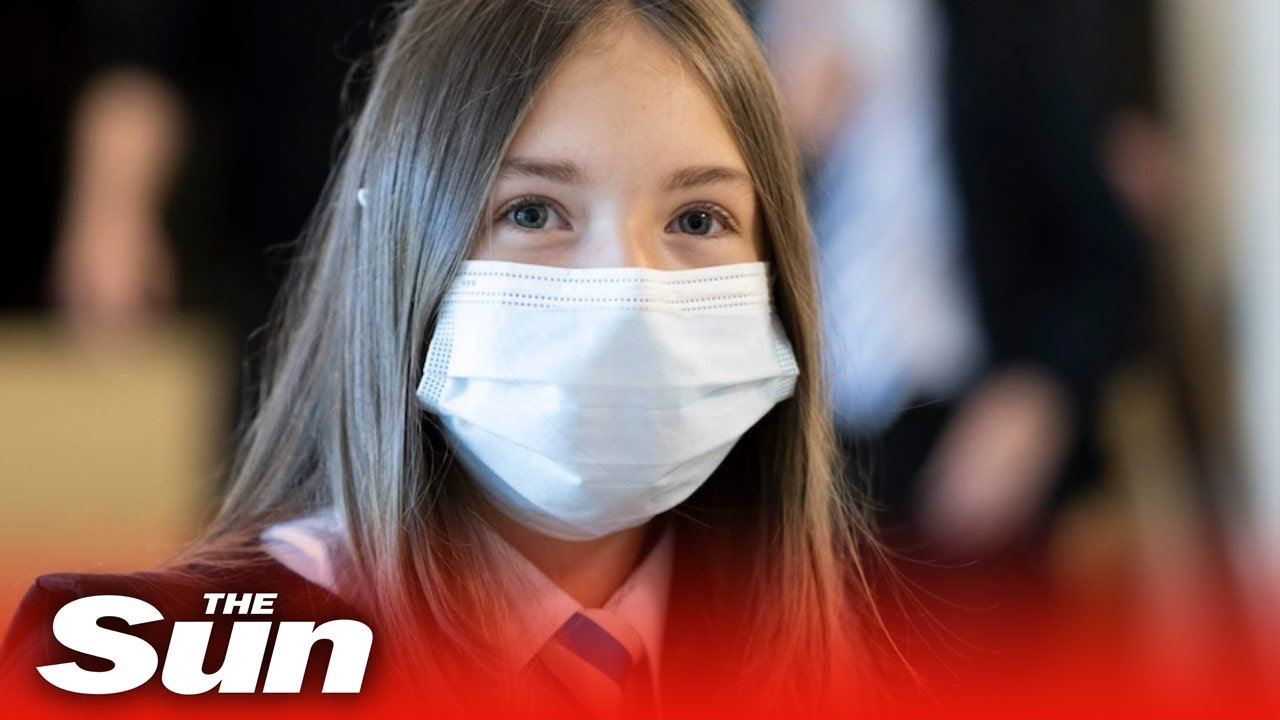 Covid-19 face masks could become mandatory in UK schools again