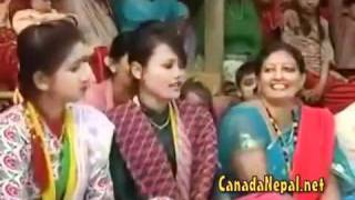 Nepali lok bhajan(part 2) prajapati parajuli,Devi Gharti  posted by Dipak Basnet Norway