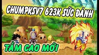 Ngọc Rồng Online - Review siêu phẩm trái đất 623k sức đánh Chumpksv7