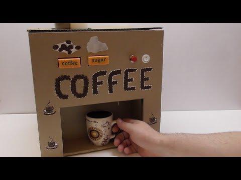 Кофе автомат Как сделать кофе автомат из картона