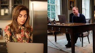 Lady Gaga + Prince William | Heads Together | #oktosay